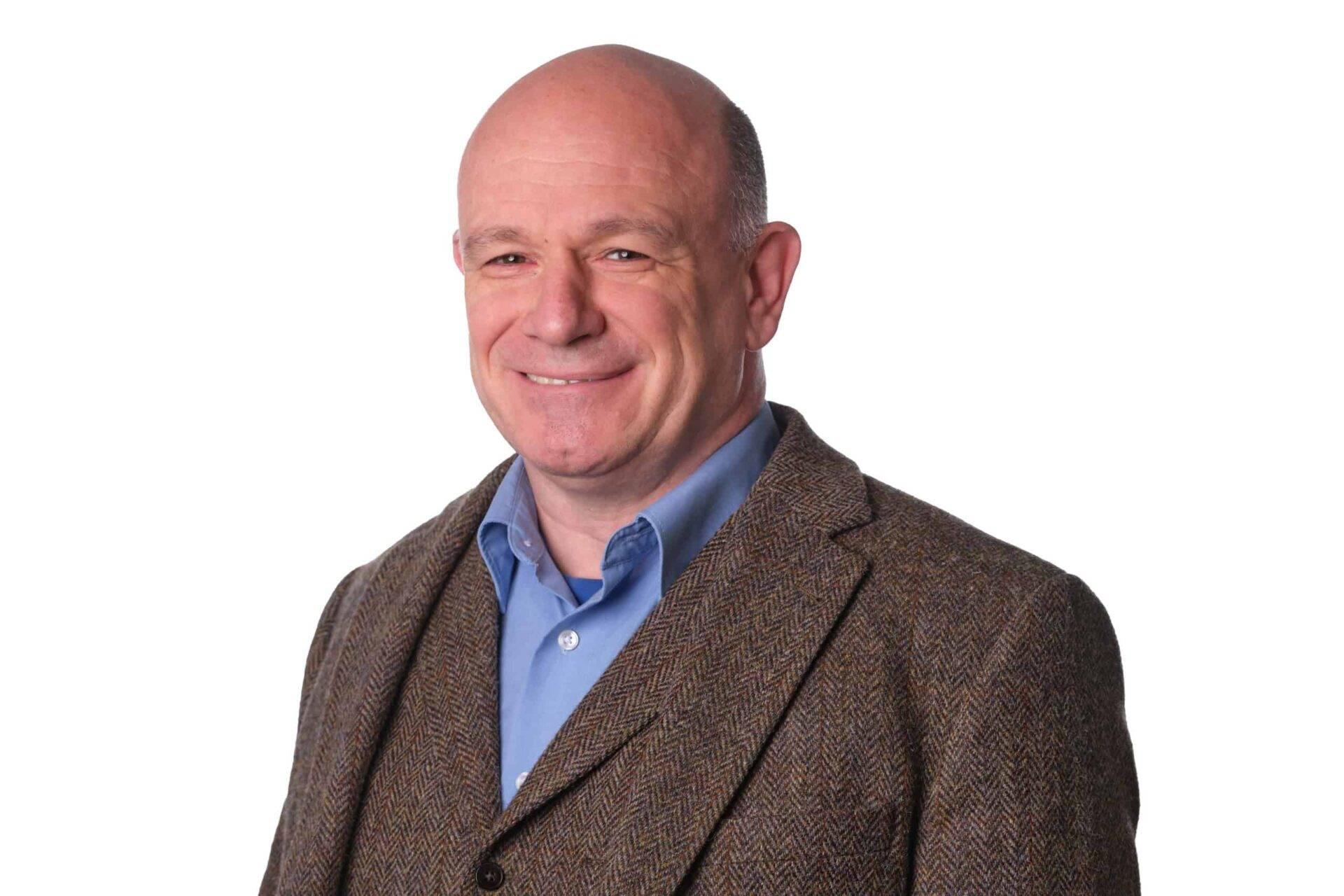 Porträt Sebastian Stegmaier, Geschäftsführer von ProSpiro