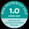 MDK Prüfsiegel 2014